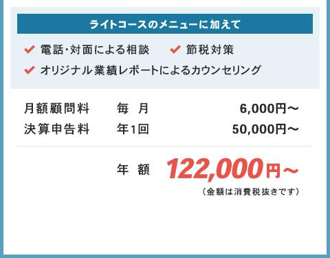 年額122,000円から